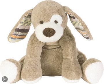 Dog Doodle, knuffel en tuttle in beige of ivory